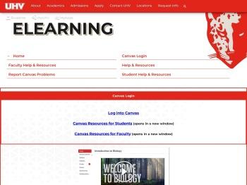 UHV eLearning - University of Houston-Victoria