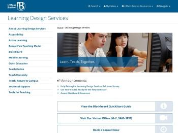 Blackboard Learn 9.1 Support - University of - UMass Boston