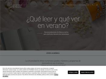 Portada - Universidad de Navarra