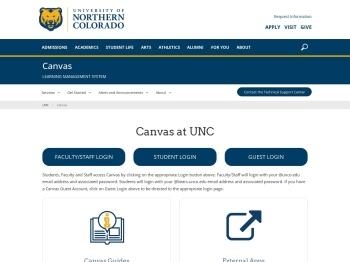 Canvas - University of Northern Colorado