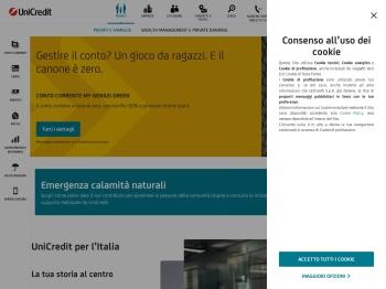 UniCredit Banca: Conti correnti, Prestiti, Carte e Investimenti