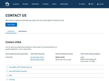 Contact Us | USAA