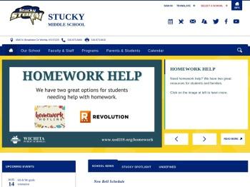 Stucky Middle / Homepage - Wichita Public Schools