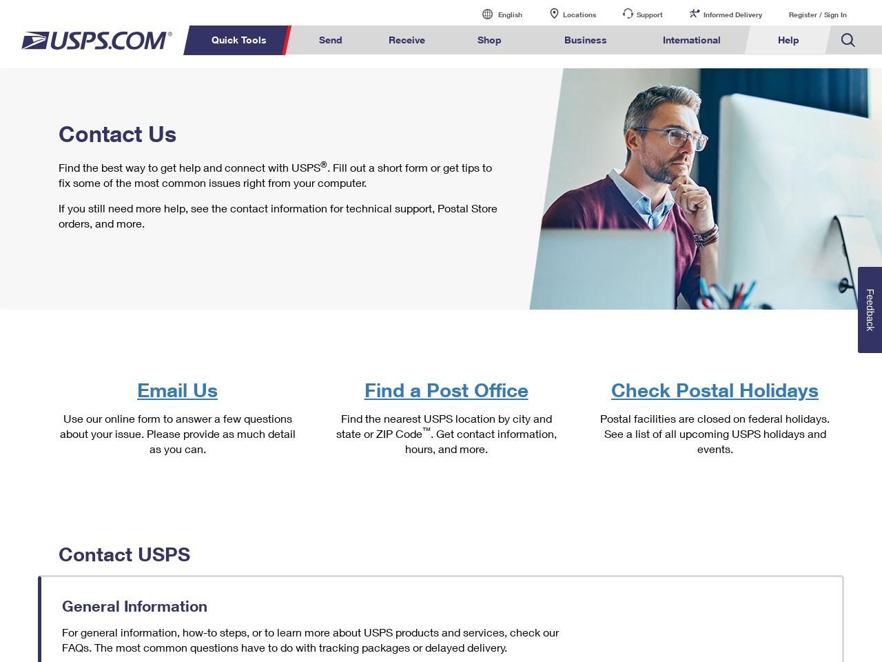 Contact Us | USPS
