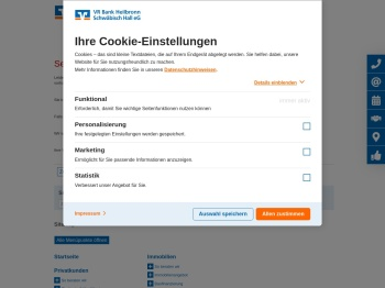 Online-Banking - VR Bank Heilbronn Schwäbisch Hall eG