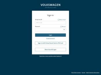 WebServices Volkswagen