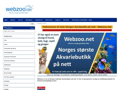 Webzoo skjermbilde