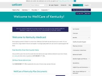 Welcome to WellCare of Kentucky | WellCare