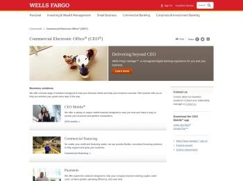 CEO – Wells Fargo Commercial