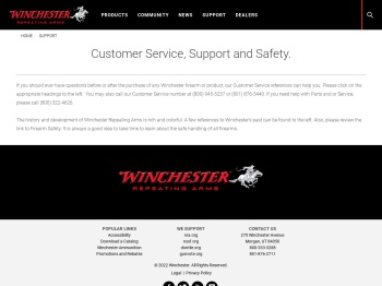 Support - Winchester Repeating Arms