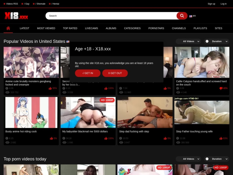 Porn videos X18
