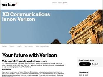 XO IP Flex and SIP Personal Voice Portal - XO Communications