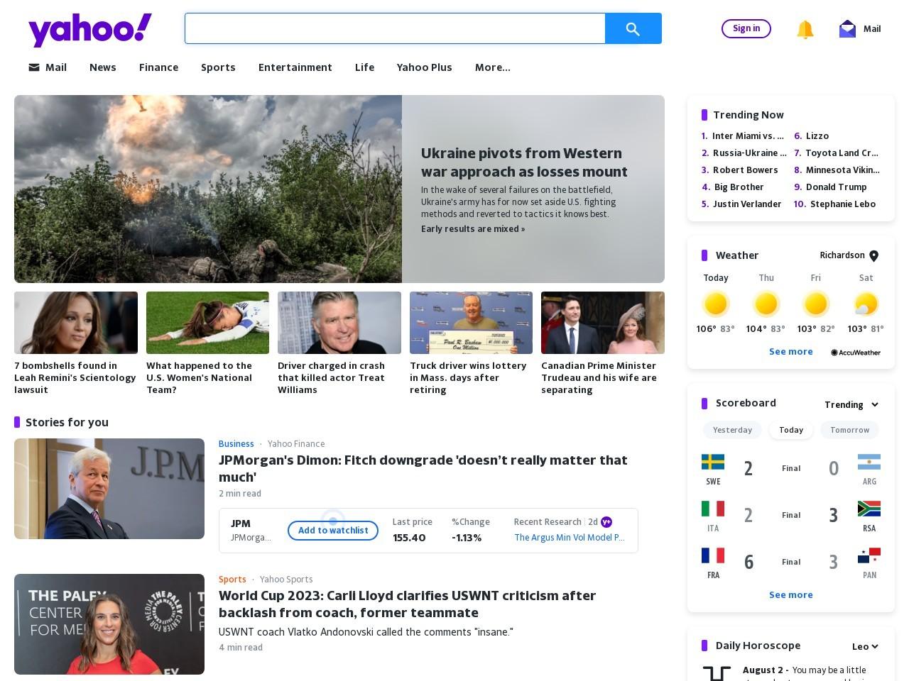 Yahoo forum