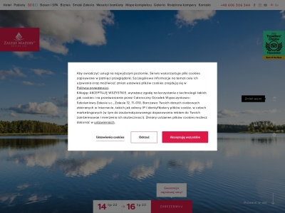 Hotel na Mazurach – Zalesie Mazury Active Spa
