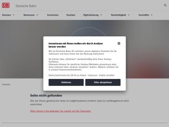 Anmeldung   Deutsche Bahn AG