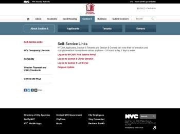 Self-Service Portal - NYCHA - NYC.gov