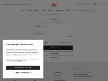 Mijn Account - H&M