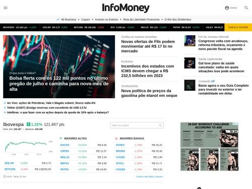 InfoMoney | Notícias, Ações e muito mais sobre investimentos