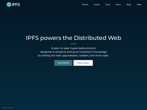 IPFS is the Distributed Web