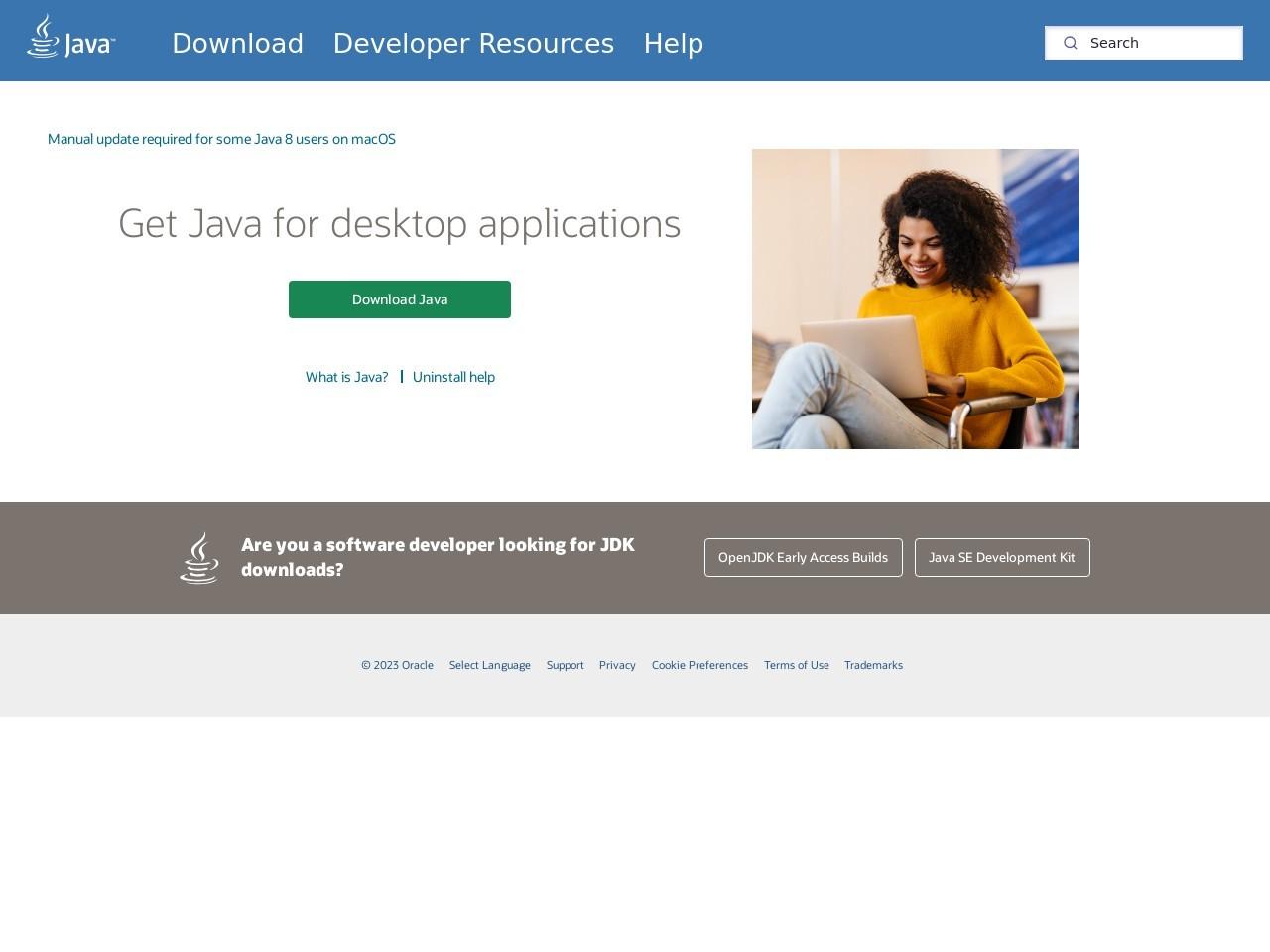 Webthumbnail java.com
