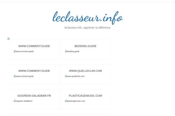 leclasseur.info