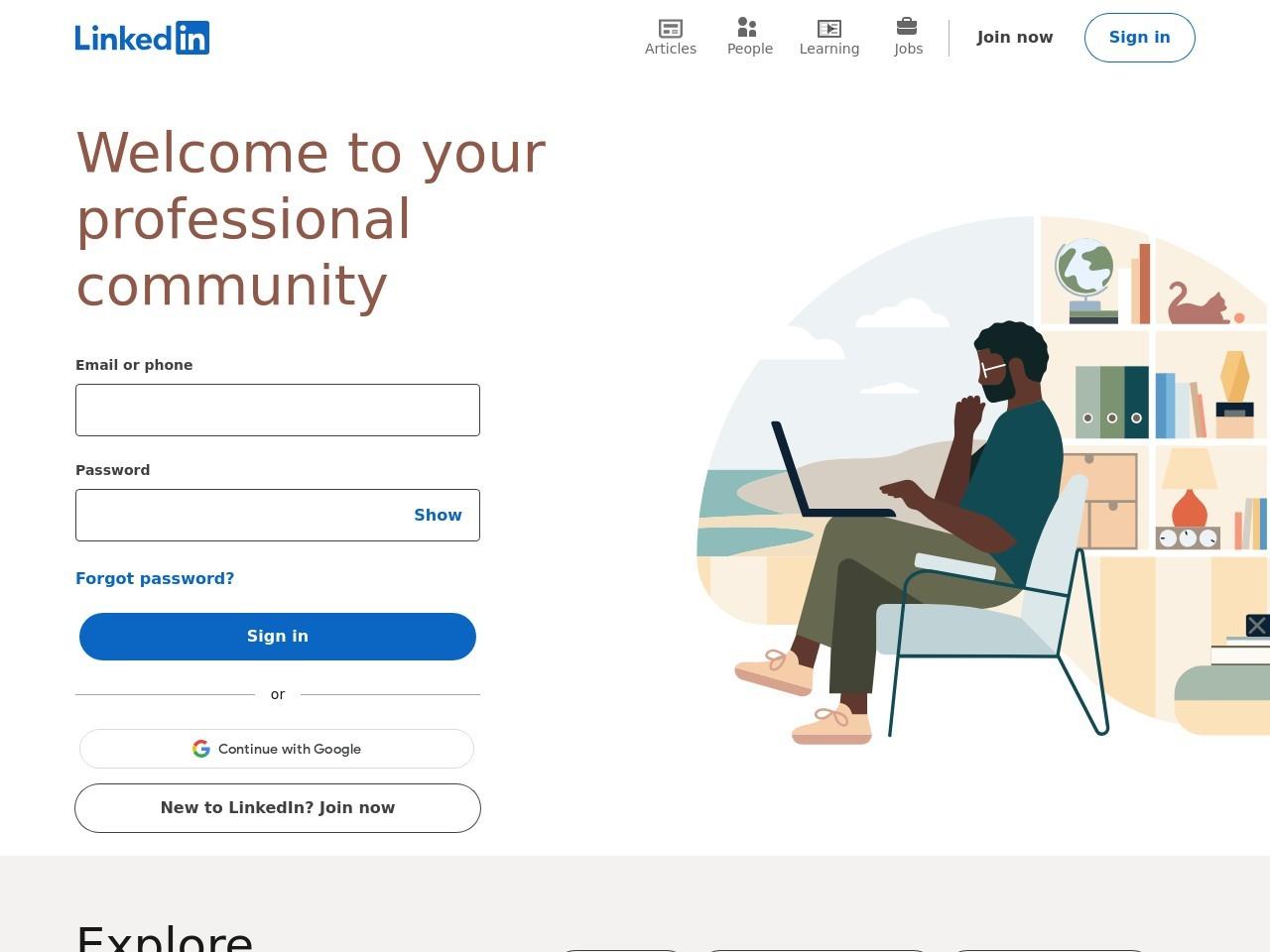 Webthumbnail linkedin.com