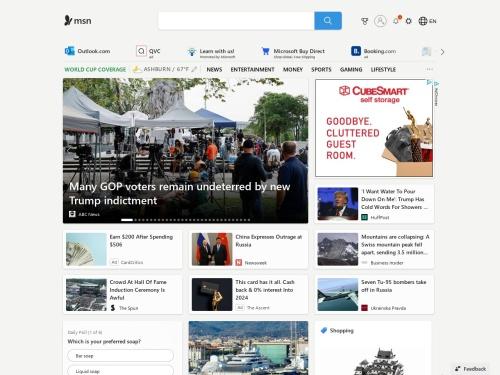 MSN Việt Nam - Hotmail, Outlook, Skype, Bing và các tin tức mới nhất
