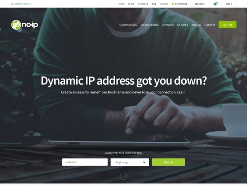 Free Dynamic DNS - Managed DNS - Managed Email - Domain Registration - No-IP