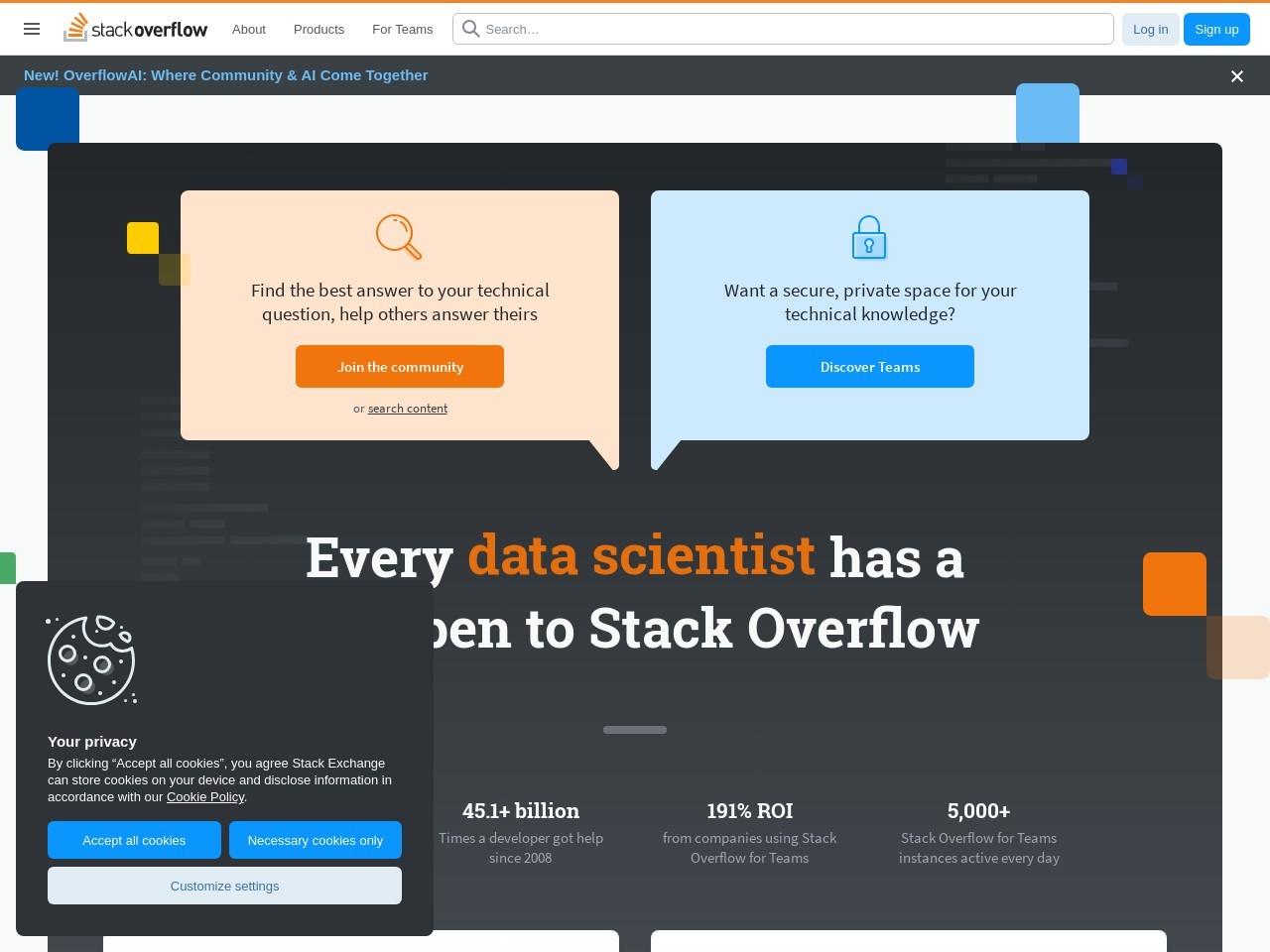 Webthumbnail stackoverflow.com