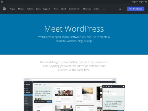 Blog Tool, Publishing Platform, and CMS — WordPress