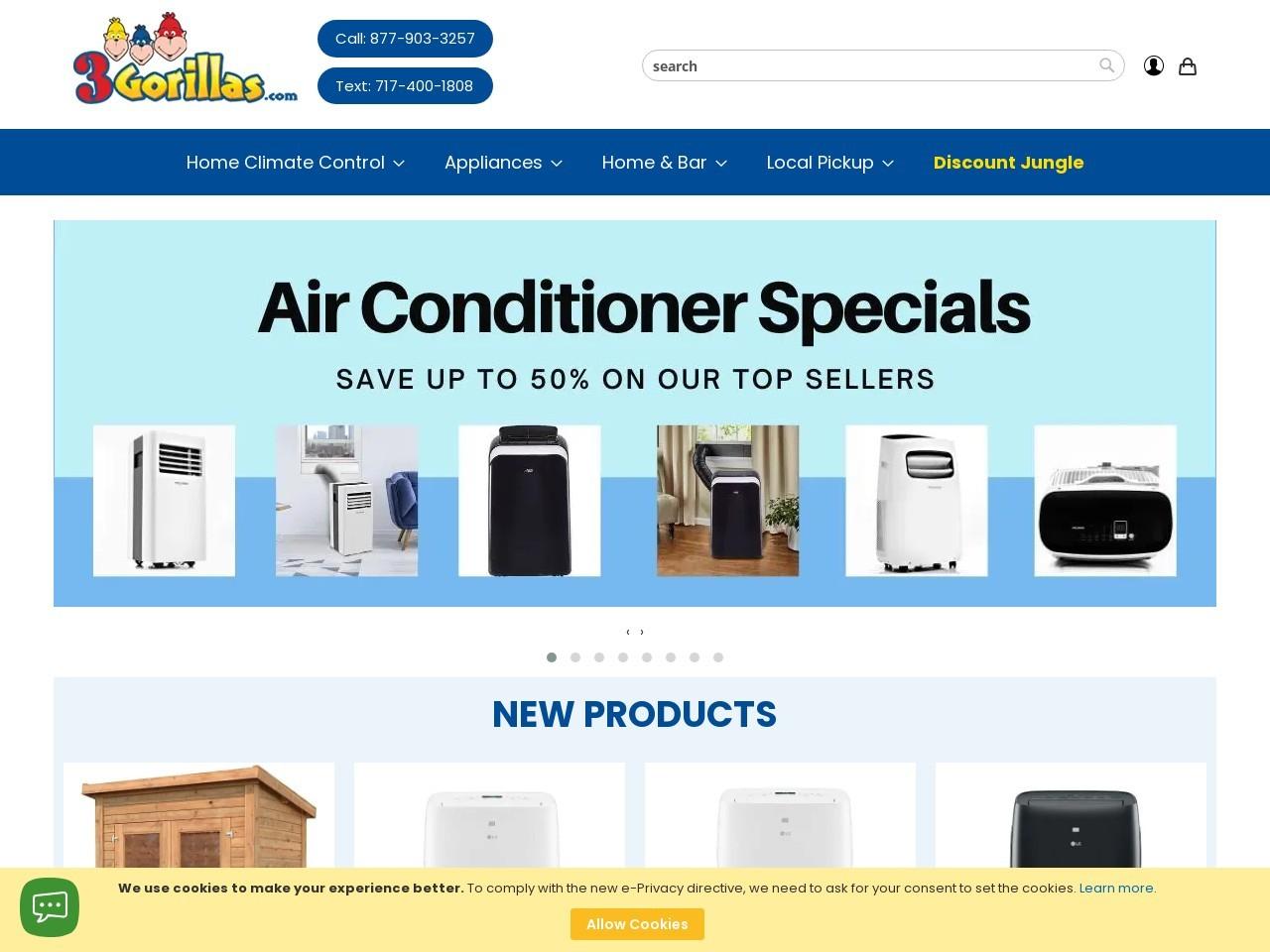 3Gorillas.com Logo