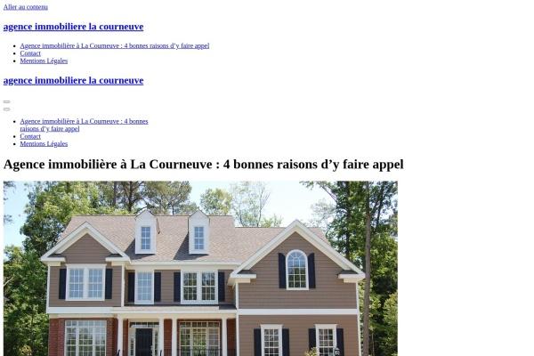 www.agence-immobiliere-la-courneuve.com