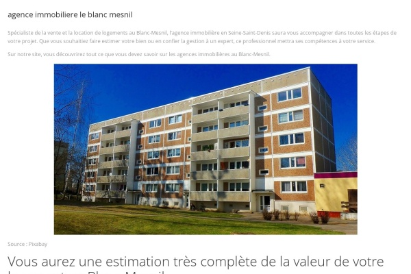 www.agence-immobiliere-le-blanc-mesnil.com