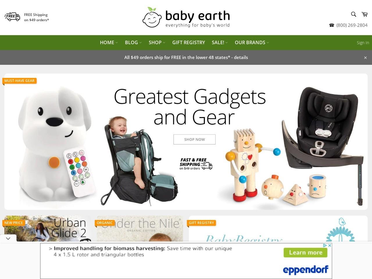 Baby Earth logo