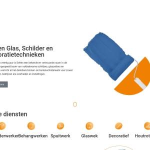 Selten Glas-Schilder en Decoratietechnieken