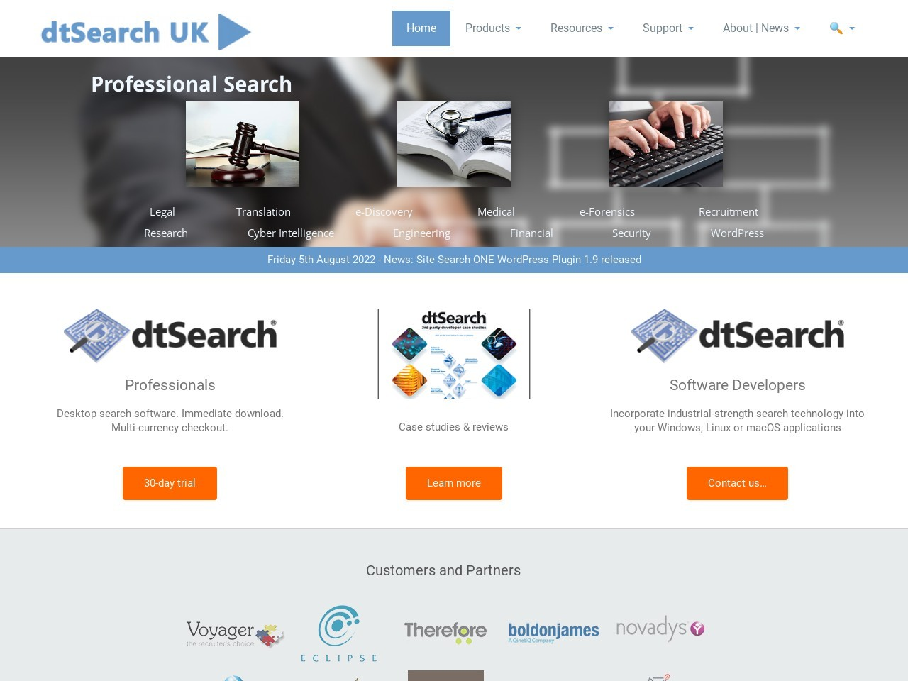 dtsearch.co.uk