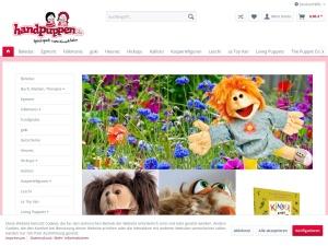 Handpuppen – Onlineshop
