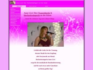 Anne Live! Die Hochzeitssängerin