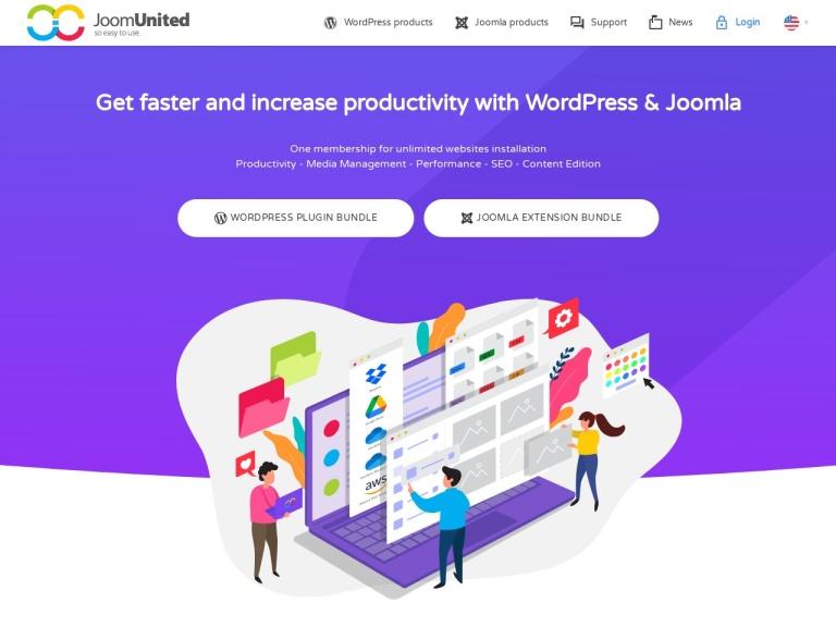 JoomUnited Coupon Codes screenshot