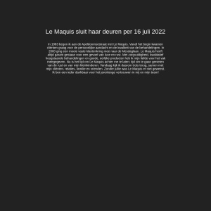 Le Maquis Intercoiffure