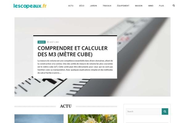 www.lescopeaux.fr