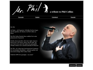 Phil Collins Double Show mit Mr. Phil