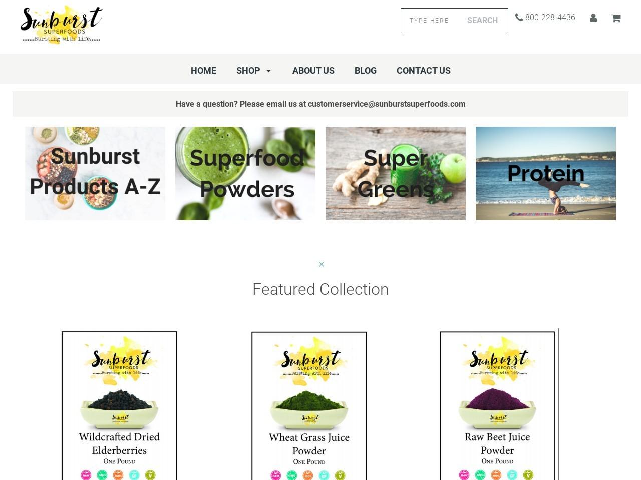 Sunburst Superfoods logo